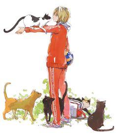 Character: Kozume Kenma Anime: Haikyuu!! Pixiv artist: 烏鴨 (ID 750680), (tumblr) ※ Reprint was authorized by the artist.