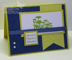 Best of Flowers, Stampin' Up! by Debbie Henderson, Debbie's Designs. Create with Connie & Mary Challenge card.