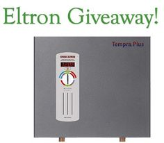 Prize is a $959.00 Stiebel Eltron Tankless Electric Water Heater - Tempra 24 Plus. Limit one online entry per email address.