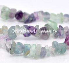 DoreenBeads Created Fluorite Gem stone Beads 5x2mm-10x5mm 87cm long, sold per packet of 2 strands (B11231), yiwu #Affiliate