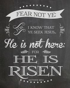 {Free} Easter Chalkboard Print from J Dunlap & Co. www.facebook.com/JSDunlapCo