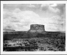 View of the Mesa Encantada from the North, New Mexico, ca.1900 :: California Historical Society Collection, 1860-1960