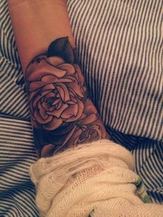 I love the roses.