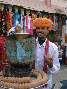 Tea and kulhars (earthen cups)