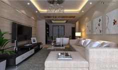 sala de estar com tv - Pesquisa Google