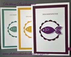 Stampin Up Konfirmationskarten Stempelset Friends & Flowers