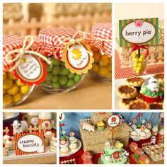 Farm Barn Yard Birthday Party, cute party favors