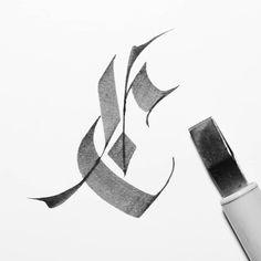 C #36daysoftype05 #36daysoftype #calligraphy #calligraffiti #keepwriting #calligraphymasters #calligraphyart #calligraphyaddict…