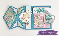 She's a Color Queen! #crafterscompanion #ccgemini #papercraft  #cardmaking #spectrumnoir