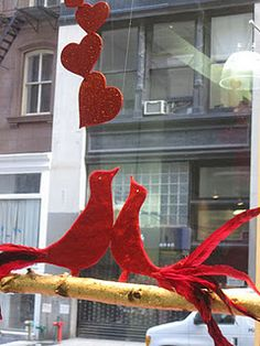 Valentine Window Decor