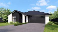 Versatile Design   Home Render   Lambton   Metro Range   Rolleston Show Home Garage Doors, Shed, Layout, Outdoor Structures, Building, Outdoor Decor, Range, Homes, Design