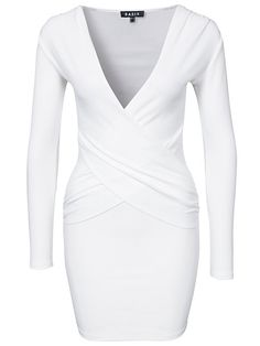 Daffodil Dress - Basik - White - Festklänningar - Kläder - Kvinna - Nelly.com