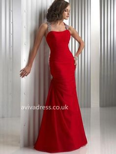 Hot Sell Mermaid Halter Floor-Length Chiffon Charmeuse Evening Dresses with Ruffle Beading Red Wedding Dresses, Cheap Prom Dresses, Ball Dresses, Ball Gowns, Party Dresses, Long Dresses, Dress Long, Prom Dress 2014, Homecoming Dresses