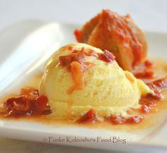 Funke Koleosho's Food Blog: Agbalumo + Ice-Cream