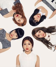 Ladies' Code - So Wonderful Concept Photos :'( they need to be honored and respected even more