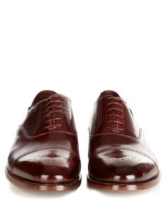 Berty brushed-leather brogues | Paul Smith Shoes & Accessories |