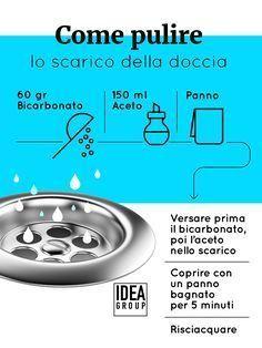 Come pulire lo scarico della doccia facilmente e in maniera naturale, utilizzando ingredienti che si trovano a casa. La più semplice è una soluzione a base di bicarbonato e aceto. #tutorial #faidate