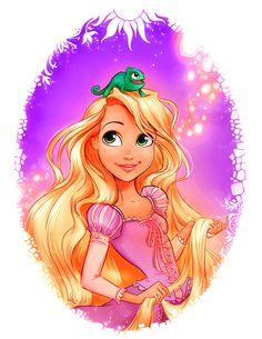 Rapunzel - Lovely Lanterns in Lavender by Whitney Pollett