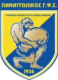Panetolikos Gymnastikos Filekpaideutikos Syllogos (Παναιτωλικός Γυμναστικός Φιλεκπαιδευτικός Σύλλογος / Panetolikos Gymnastic Educational Club) | Country: Greece / Ελλάδα. País: Grecia. | Founded/Fundado: 1926 | Badge/Crest/Logo/Escudo.