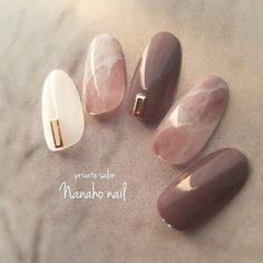 ネイル ネイル in 2020 Manicure Nail Designs, Nail Manicure, Nail Art Designs, Cute Acrylic Nails, Cute Nails, My Nails, Soft Nails, Simple Nails, Office Nails