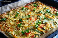 Savory Pastry, Savoury Baking, Low Carb Recipes, Baking Recipes, Vegetarian Recipes, Free Recipes, I Love Food, Good Food, Yummy Food