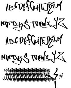 Fucking Tag font by Wassimo Style Alphabet Graffiti, Grafitti Letters, Graffiti Lettering Fonts, Graffiti Art, Hand Lettering, Font Tag, Graffiti Flowers, Collection Letter, Prize Draw