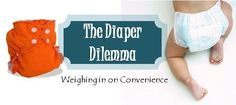 Convenience of Cloth Diapers vs. Disposables