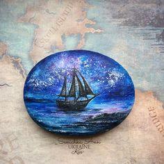 #senichka_ann #Аниныкамни #волшебныерисункинакамнях #море #art #artstone…