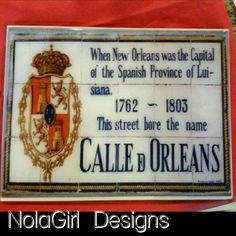 New Orleans Tiles #nola #neworleans #city #home #decor #blessed #decor #etsy