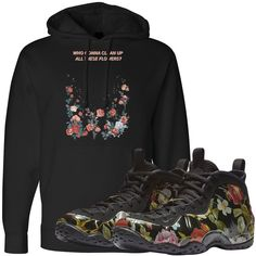 4c7af57926008c Match the Air Foamposite One Floral sneakers perfectly today with exclusive  sneaker matching clothing from Foot. Cap Swag