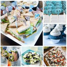 baby boy shower food ideas