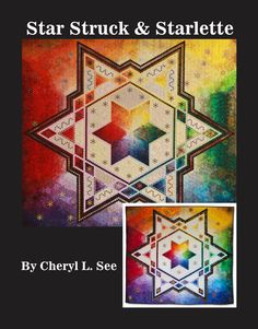My second book is now out!  Perfect for quilters addicted to hexies!  Available on wwww.CSeesQuilts.com