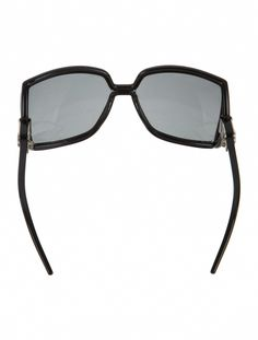 373d998dac Black acetate Jimmy Choo Jackie square oversize sunglasses with tinted  lenses.  JimmyChoo