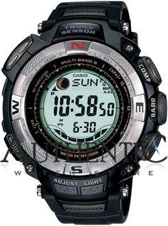 Casio Pathfinder PAW1500-1V Watch Pro Trek Mens - Blue Dial