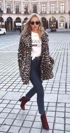 10 Trendy Faux Fur Coat Outfit Ideas