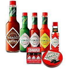 Tabasco Sauce and Chocolate Pack: Buffalo Style, Garlic P...