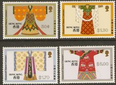 Hong Kong 1987 Costumes Set.