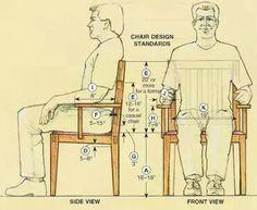 Standard chair dimensions