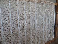 Vintage Filet Crocheted Tablecloth eco by VintageGatherings, $4.99