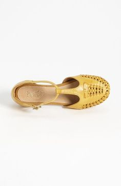 Perfect spring & summer sandal! Seychelles 'Cayenne' Sandal in yellow.      #nordstrom