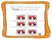 Fire Truck Concentration product from Playful-Learning-Brooklyn on TeachersNotebook.com