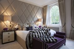 Hyde Park- the wall is the headboard.