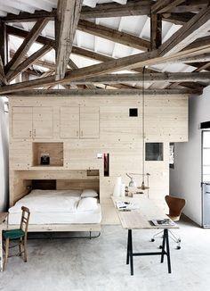 30 příkladů, kdy betonové podlahy zdobí už tak atraktivní interiér   Living   bydlení   WORN magazine
