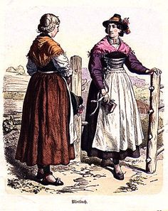 Plate #101c - Late Nineteenth Century - German Folk Dress (Bavaria)