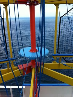 Ropes course on the Norwegian Breakaway