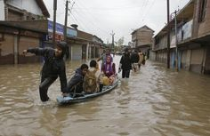 70 missing after flooded stream sweeps away bus in Kashmir - NEW YORK DAILY NEWS #Floods, #Kashmir