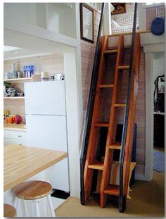 split stairs to loft