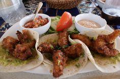Fish Tacos. Villas Las Estrellas.