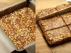 No-Bake Banana Nut Protein Bars – vegan, gluten-free | Will Cook For Friends. Followed recipe but still crumbly maybe add more dates or a bit of honey to hold together. My dates may have been on the small size. Used cinnamon roll protein powder. Otherwise very good