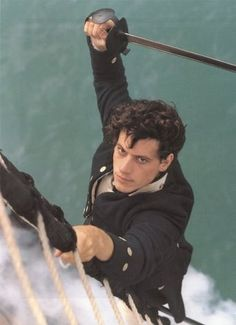 "Pinner said: ""Horatio Hornblower. Except for the language, these are some of our favorite movies EVER!"""